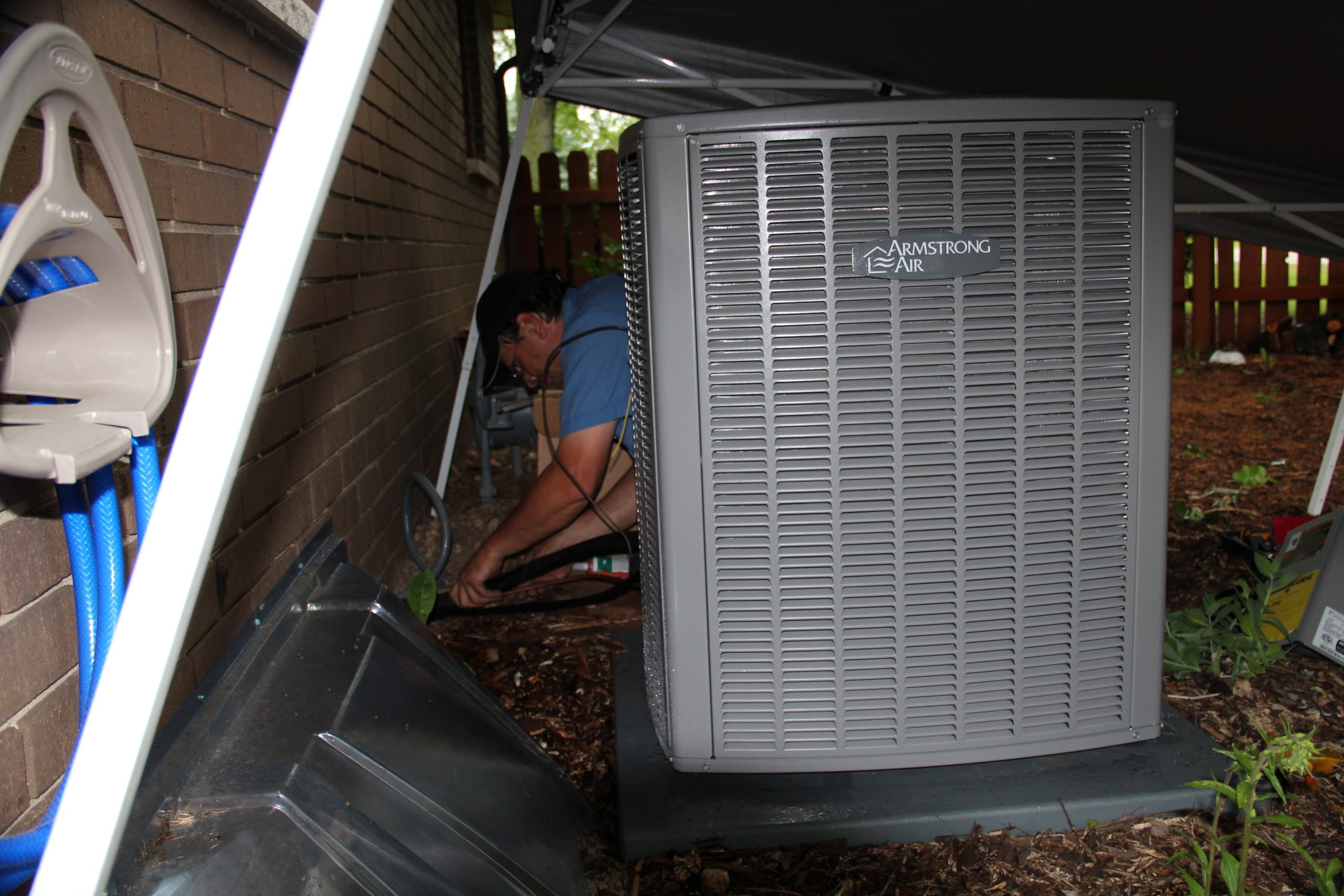 Central Air, Air Conditioning, Repair, Slinger