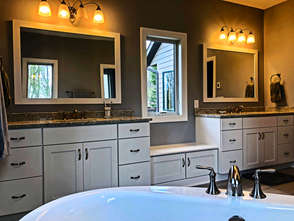 bathroom remodeling, slinger, west bend, cedarburt