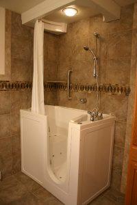walk in tub installation, bathroom remodeling